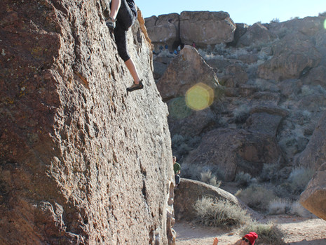 An Experience at the Women's Climbing Festival