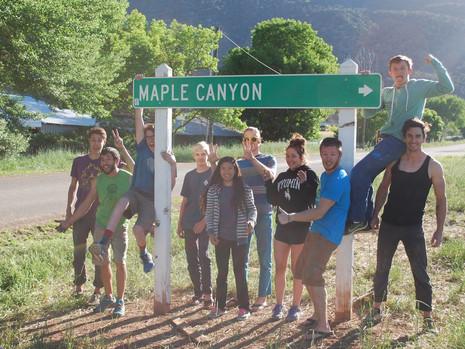 Third Annual Maple Canyon Trip