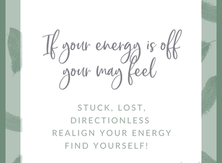 5 Easy ways to align your inside energy with your outside self!