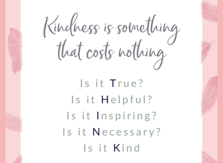 7 Lessons I  have learnt from kindness :)