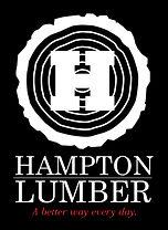 HAMPTON LUMBER logo and wordmark_BWR_ver