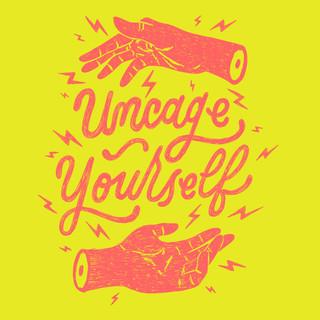 Uncage Yourself Print Design | Pete&Pen