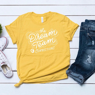 Dream Team Tee for Connections Therapy Center | Pete&Pen