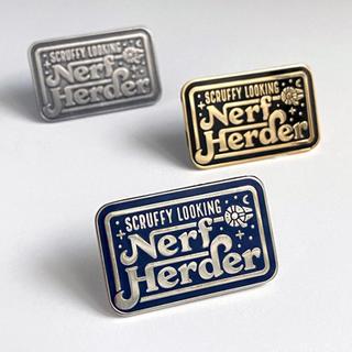 Nerf Herder Design for MacGuffin Goods | Pete&Pen