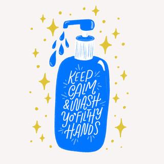 Wash Yo' Filthy Hands Design | Pete&Pen