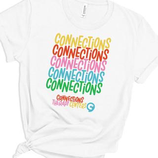Connections Rainbow Tee