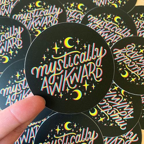 Mystically Awkward Sticker
