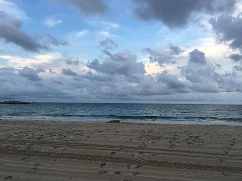 Beach with footsteps.jpg