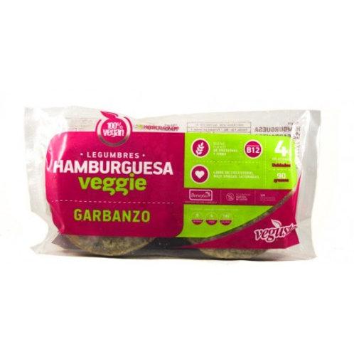 Hamburguesa de Garbanzo Vegusta 4 un.