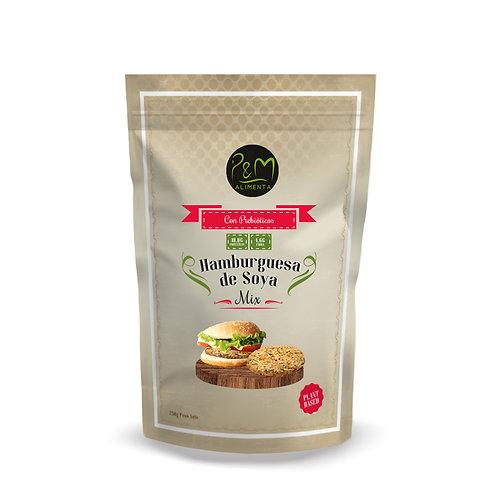 Premezcla para Hamburguesas de Soya vegana, sin gluten 250gr.