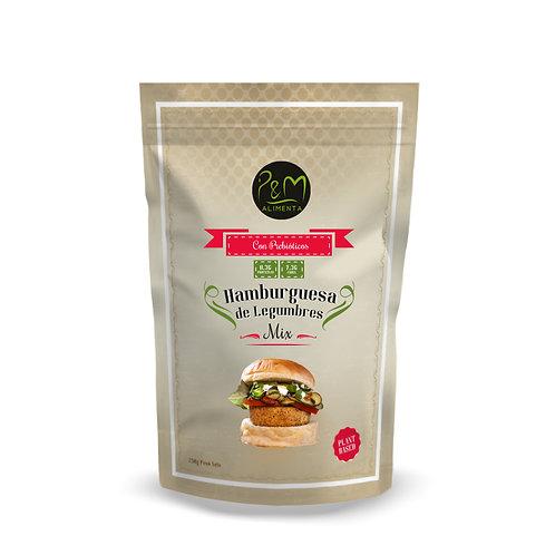 Premezcla para Hamburguesas de Legumbres vegana, sin gluten 250gr.