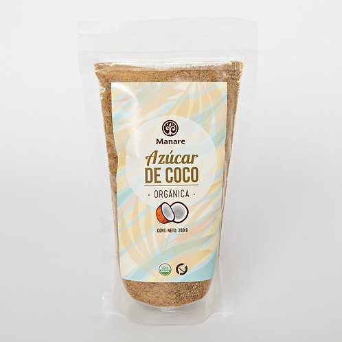 Azúcar de coco orgánica Manare 200 gr