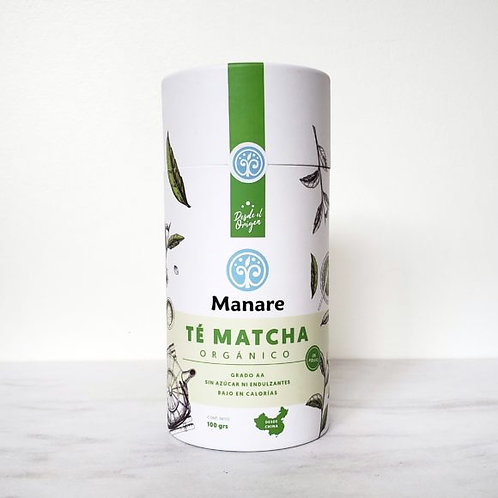 Te Matcha orgánico Manare 100g.