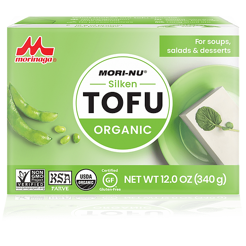 Tofu orgánico suave Morinaga 349g.