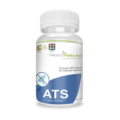 ATS-Anti Stress 500mg. Health Natural 60 cáps. veg.