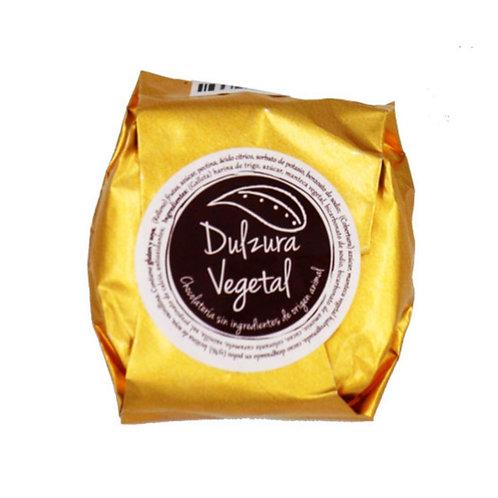 Alfajor vegano Marrón glacé Dulzura vegetal