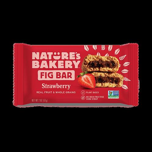 Fig Bar Frutilla Nature's Bakery