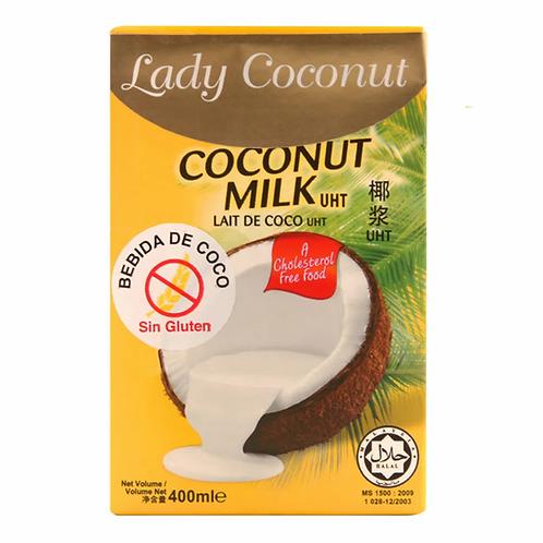 Leche de coco Lady Coconut 500ml.