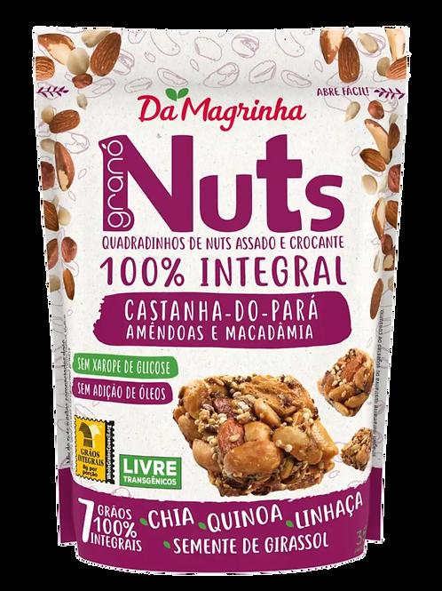 Snack de granola, nuez de Brasil y maní Da Magrinha