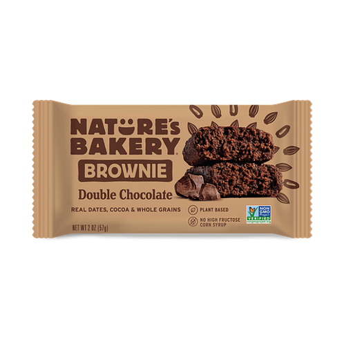 Fig Bar Brownie Chocolate Natures Bakery