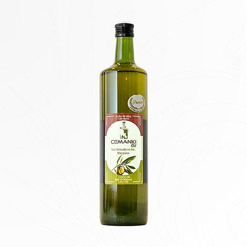Aceite de Oliva Premium Extra Virgen Cemanki 1 Litro