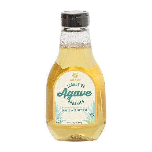 Jarabe de ágave orgánico Manare 330 ml.