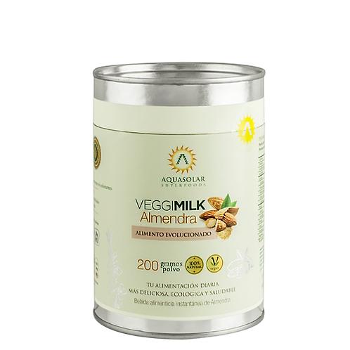 Leche vegetal Almendra Aquasolar 200g.