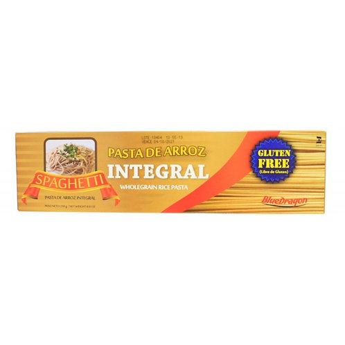 Spaghetti de Arroz Integral Blue Dragon 250g.
