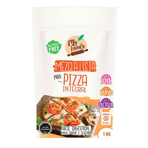 Mezcla lista para Pizza Sin gluten My Foods 1k.