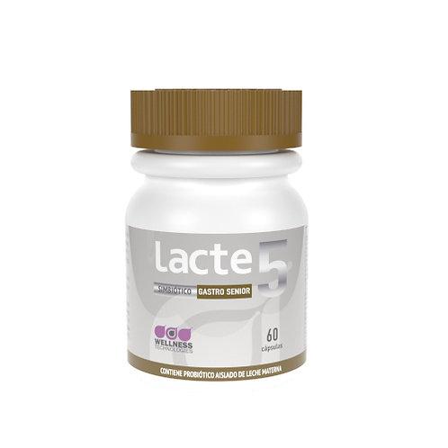 Probiótico Lacte 5 GastroSenior 60 cáps.