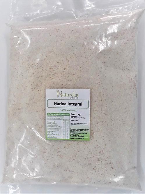 Harina de Trigo Integral Naturelia 1k.