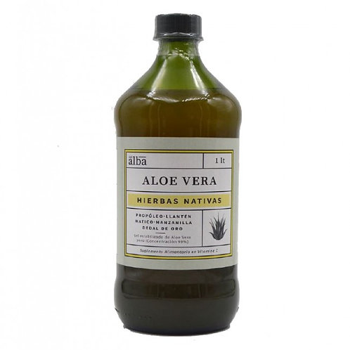 Gel Aloe Vera Hierbas Nativas Del Alba 1 L.