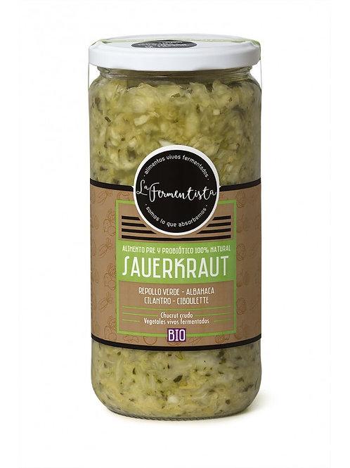 Sauerkraut Verdes Vivos La Fermentista 640 g.