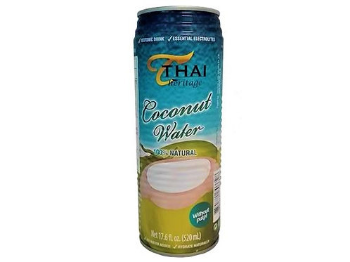 Agua de Coco 100% Natural Thai 520ml.