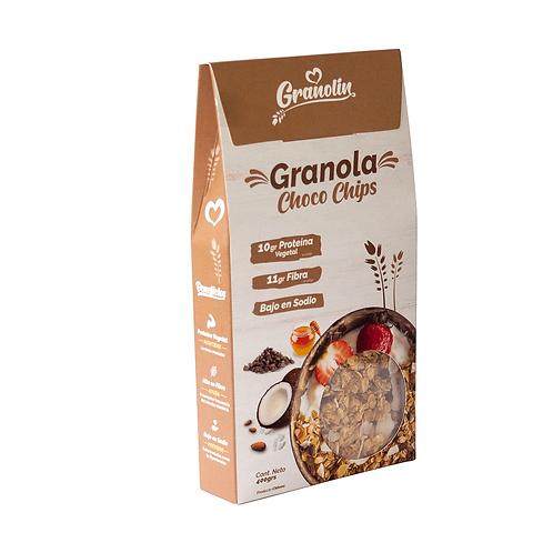 Granola Chocochips Granolin 400g.