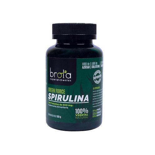Spirulina orgánica Brota 360 tabletas