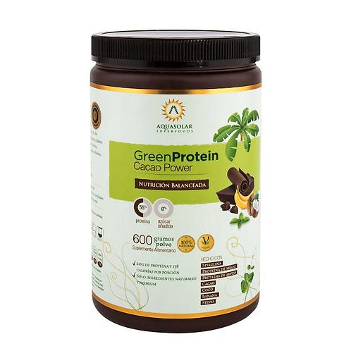 GreenProtein Cacao Aquasolar 600g.