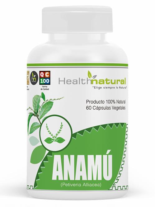 Anamú 500mg. Health Natural 60 cápsulas vegetales