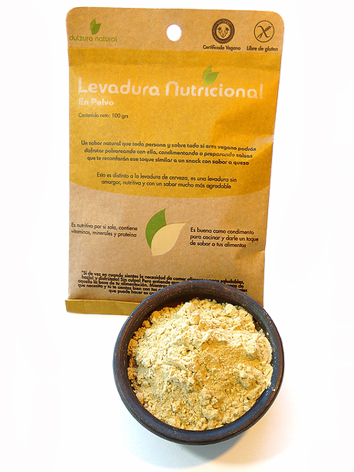 Levadura Nutricional en polvo Dulzura Natural 100g.