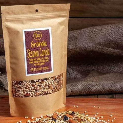 Granola Sésamo Canela Terranut 330g.