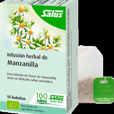 Infusión orgánica Manzanilla Salus 15 bolsitas