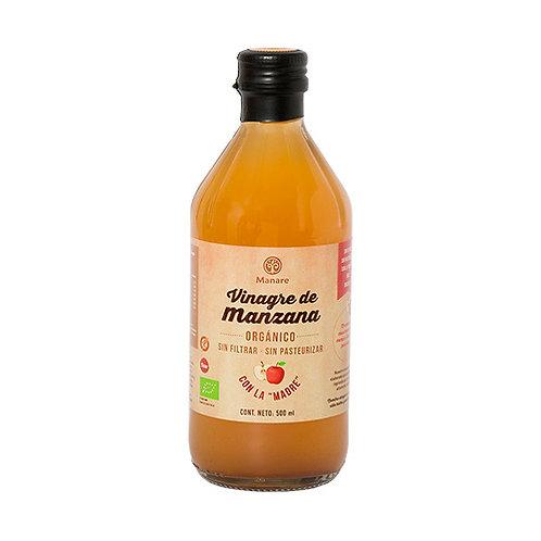 Vinagre de Manzana Orgánico Manare 500ml.