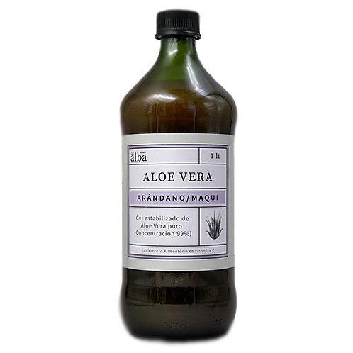 Gel Aloe Vera Arándano Maqui Del Alba 1 L.