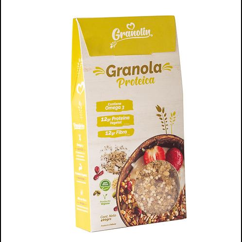 Granola Proteica Granolin 400g.