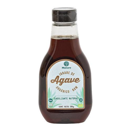 Jarabe de Agave Orgánico Raw Manare  330ml.
