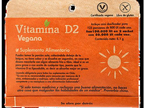 Vitamina D2 en polvo Dulzura Natural