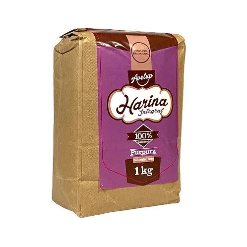 Harina Integral de Trigo Púrpura Avelup 1k.