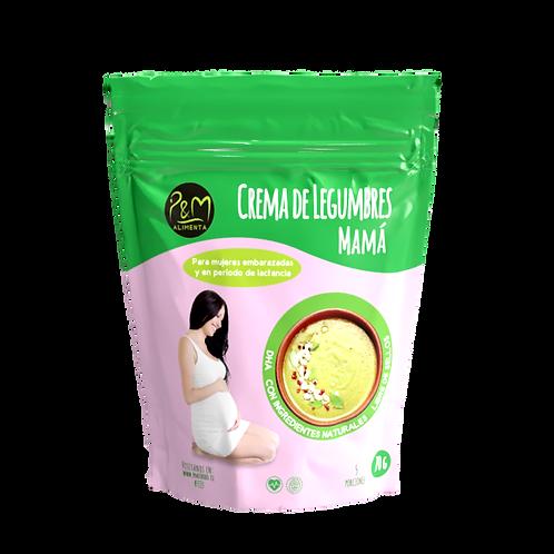 Crema de legumbres Mamá PM 70gr.