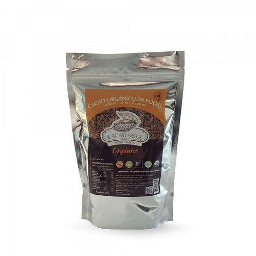 Cacao orgánico en polvo Cacao Soul 300g.