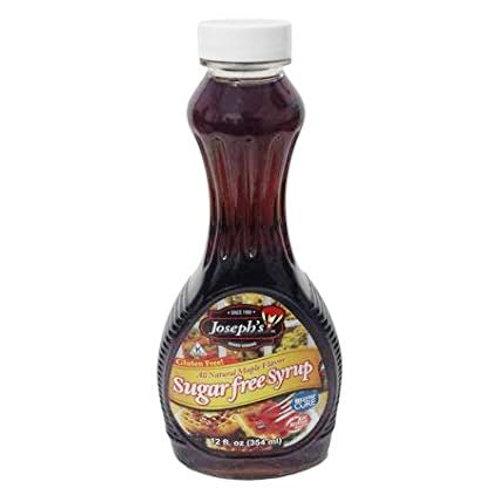 Maple Syrup sin azúcar, sin gluten Joseph 354 ml.